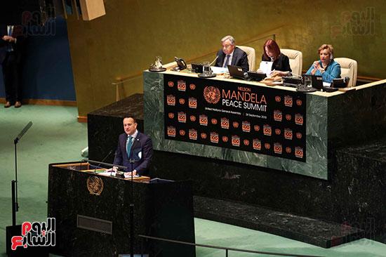 الرئيس عبد الفتاح السيسى لحضور قمه نيسلون مانديلا  (18)