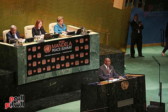 الرئيس عبد الفتاح السيسى لحضور قمه نيسلون مانديلا  (10)