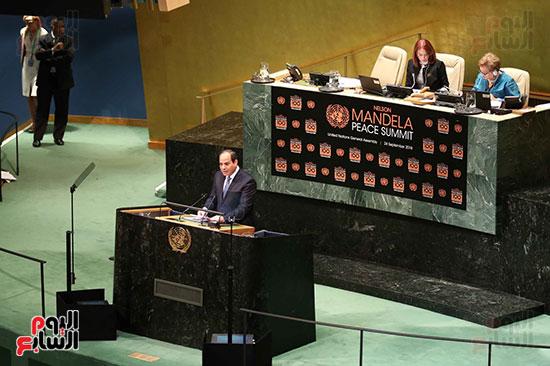 الرئيس السيسى بالامم المتحدة (6)