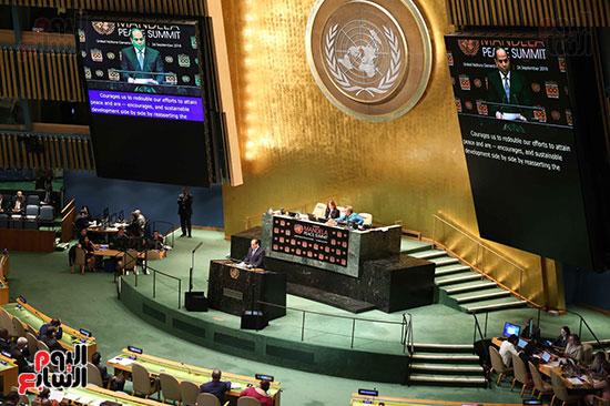 الرئيس السيسى بالامم المتحدة (8)