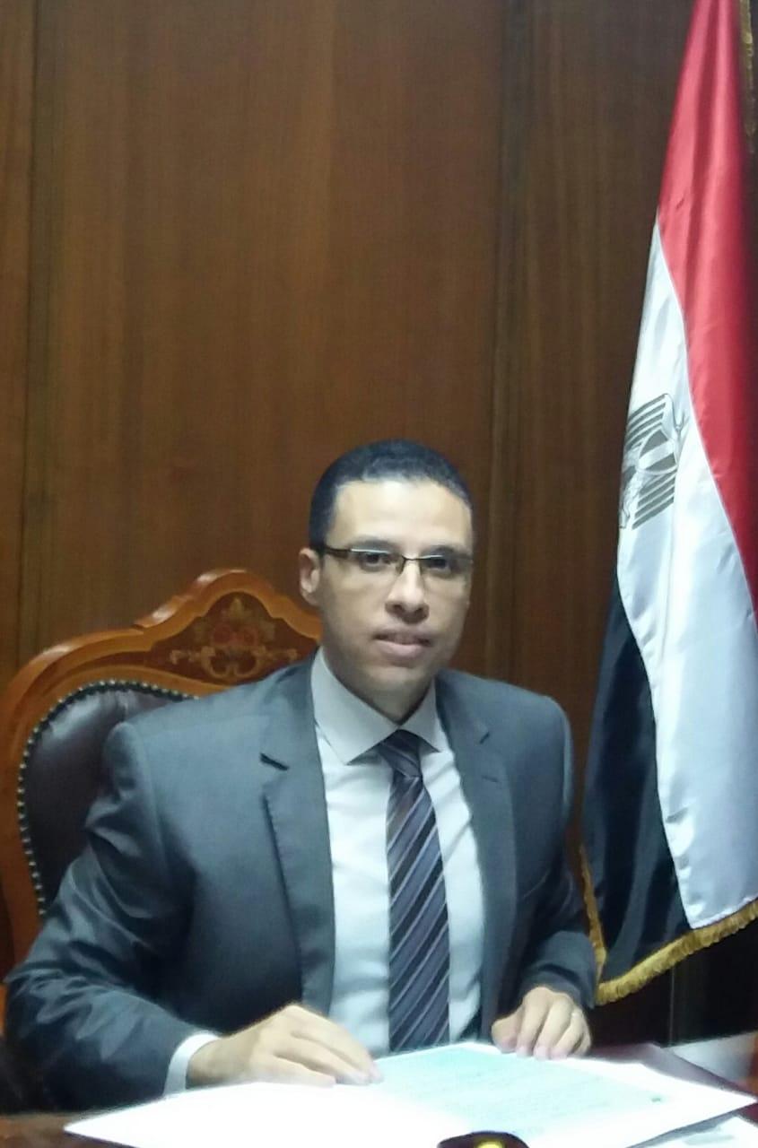 المستشار شريف عفيفي رئيس المكتب الفني للمحاكم التأديبية  والإدارية