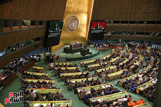 الرئيس عبد الفتاح السيسى لحضور قمه نيسلون مانديلا  (12)