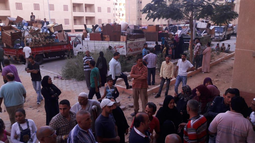 تسكين 20 أسرة من عين الصيرة بمدينة بدر (4)