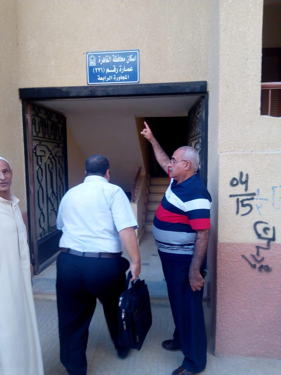 تسكين 20 أسرة من عين الصيرة بمدينة بدر (1)