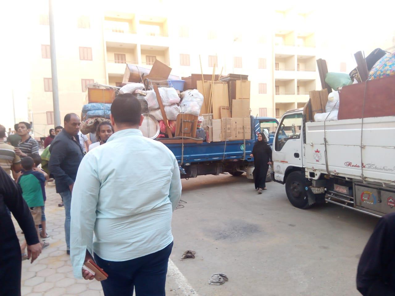 تسكين 20 أسرة من عين الصيرة بمدينة بدر (10)