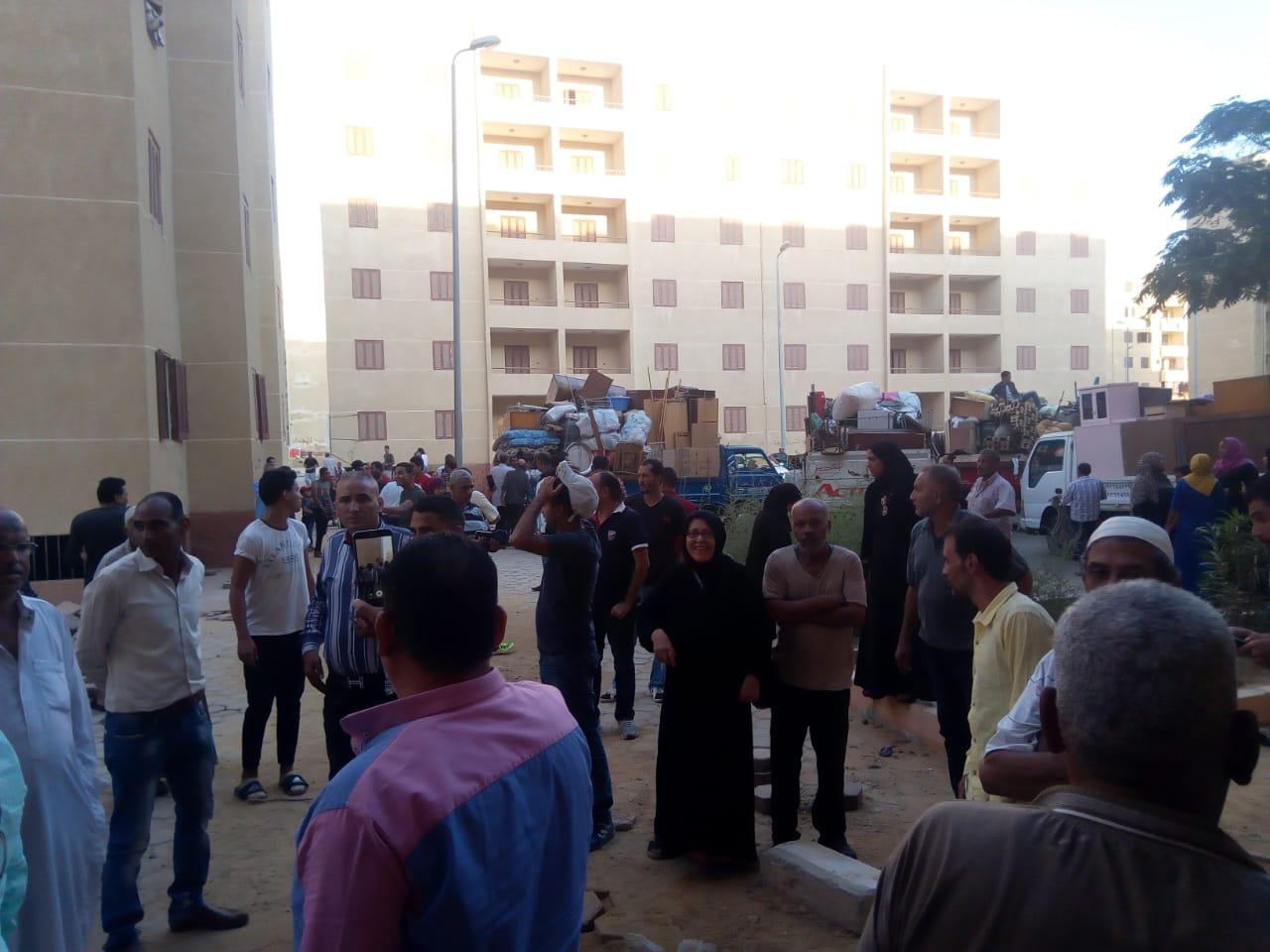 تسكين 20 أسرة من عين الصيرة بمدينة بدر (9)