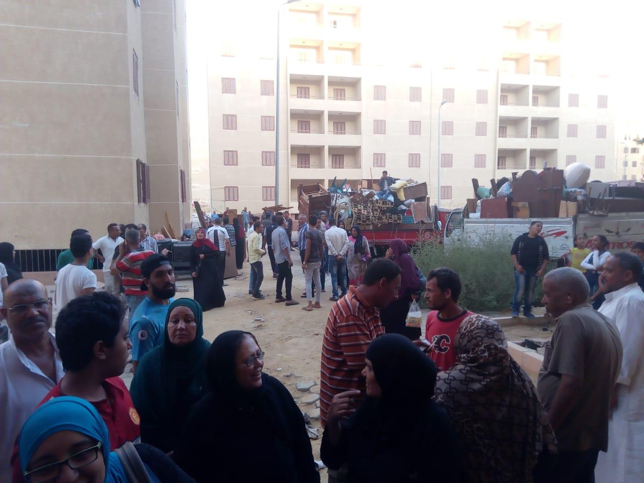 تسكين 20 أسرة من عين الصيرة بمدينة بدر (7)