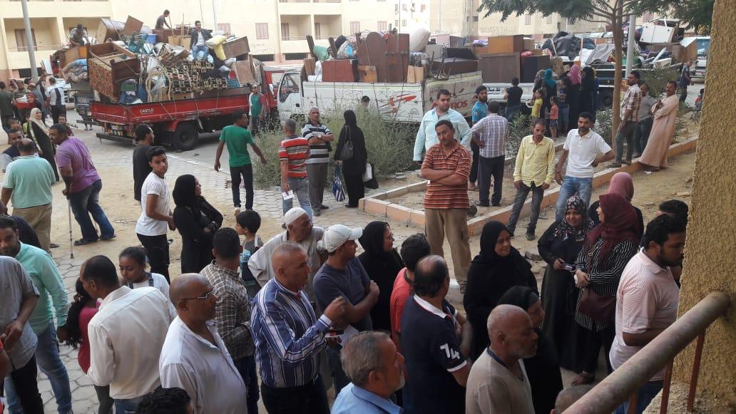 تسكين 20 أسرة من عين الصيرة بمدينة بدر (5)