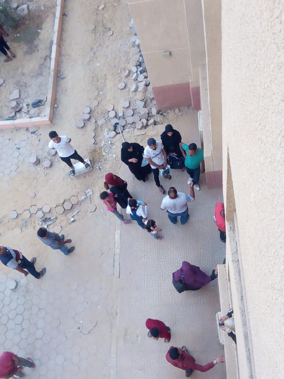 تسكين 20 أسرة من عين الصيرة بمدينة بدر (8)