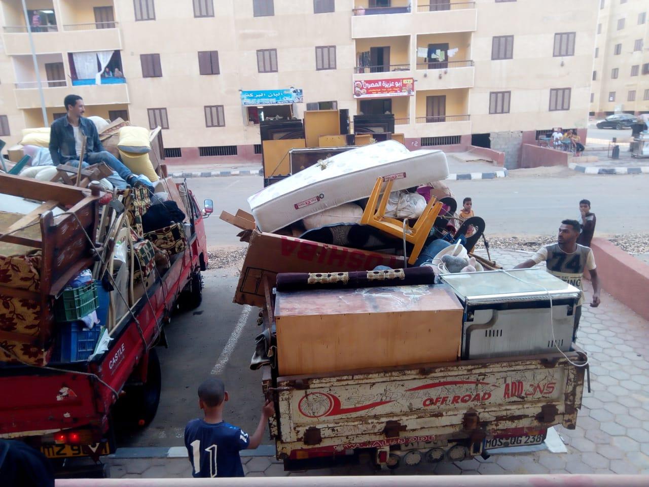 تسكين 20 أسرة من عين الصيرة بمدينة بدر (11)