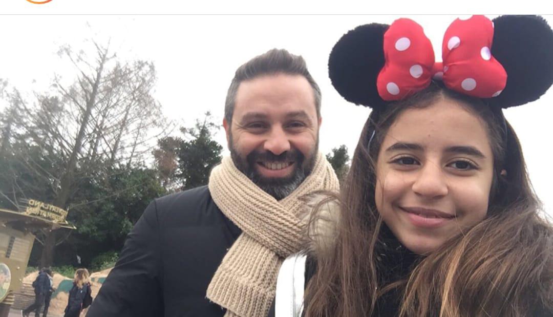 حازم إمام و ابنته هيا - Copy