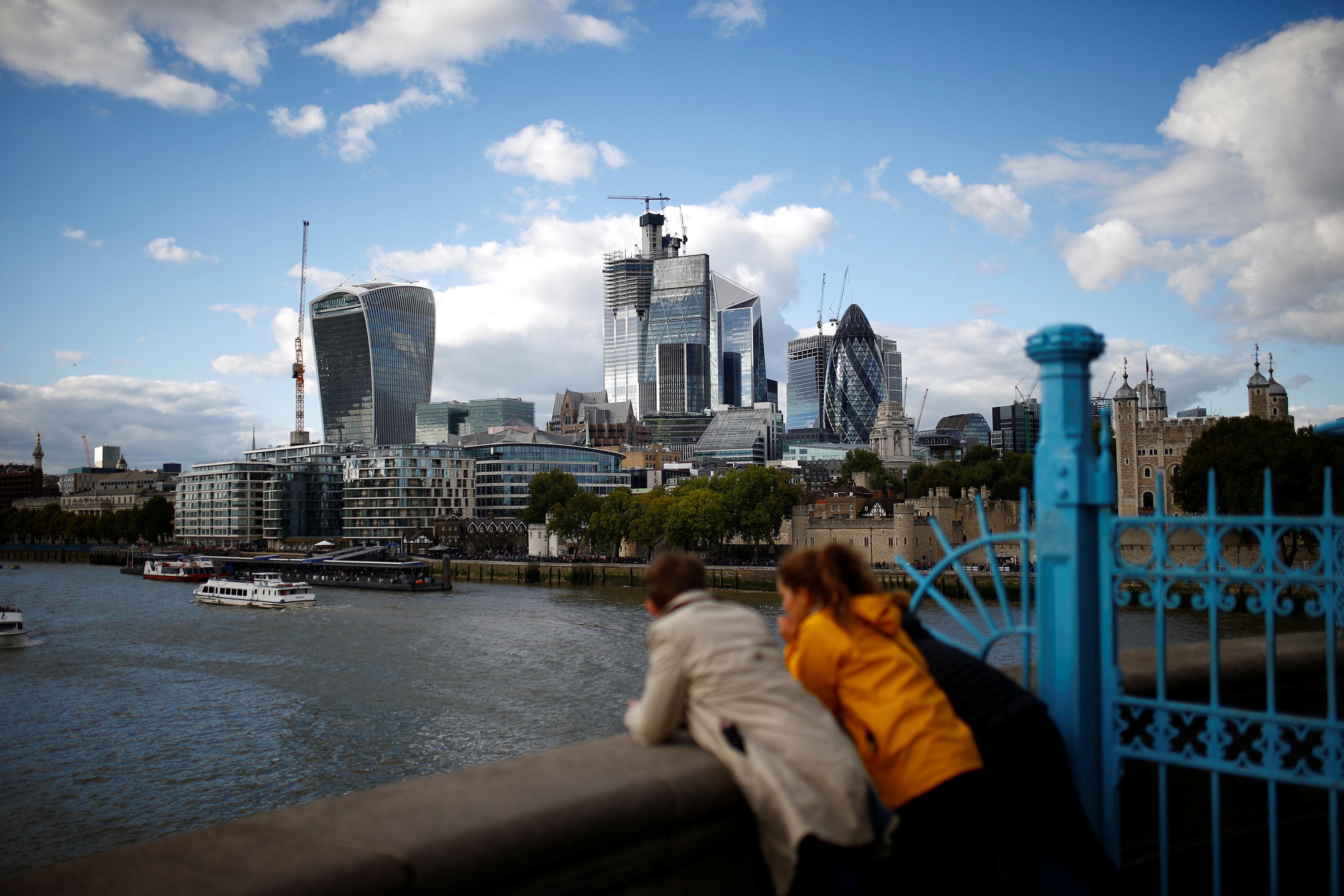 مبانى لندن الجديدة غيرت خريطة العاصمة البريطانية