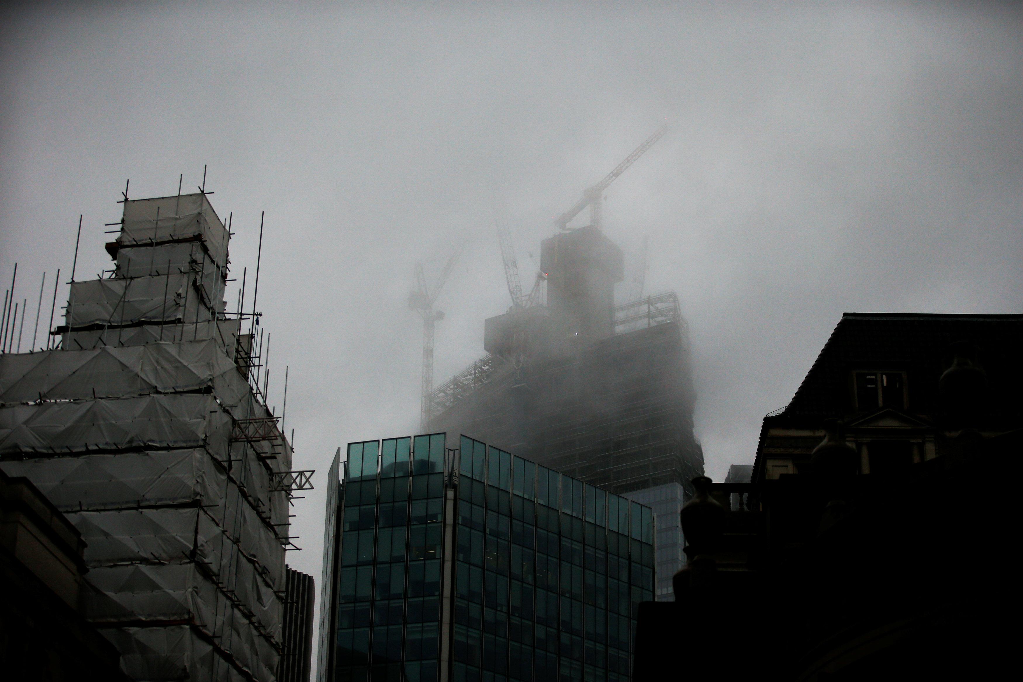 أعمال بناء جديدة فى العاصمة البريطانية