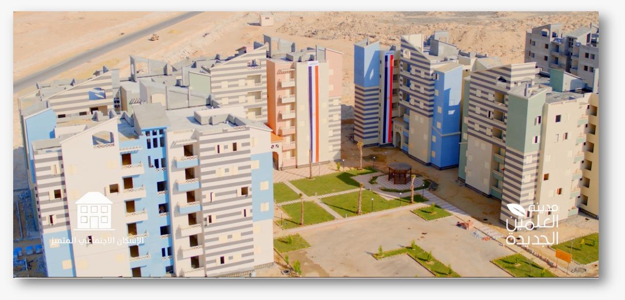 أول 500 وحدة سكنية نظام الاسكان المتميز بمدينة العلمين الجديدة  (8)