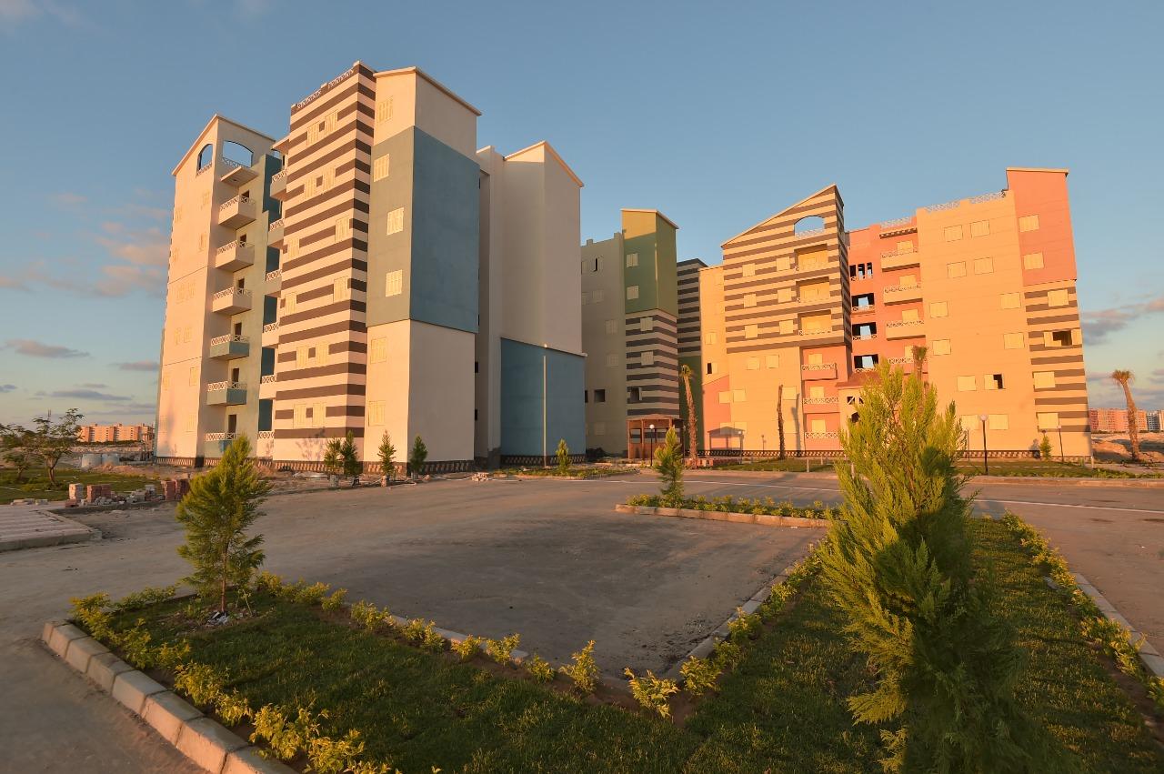 أول 500 وحدة سكنية نظام الاسكان المتميز بمدينة العلمين الجديدة  (3)