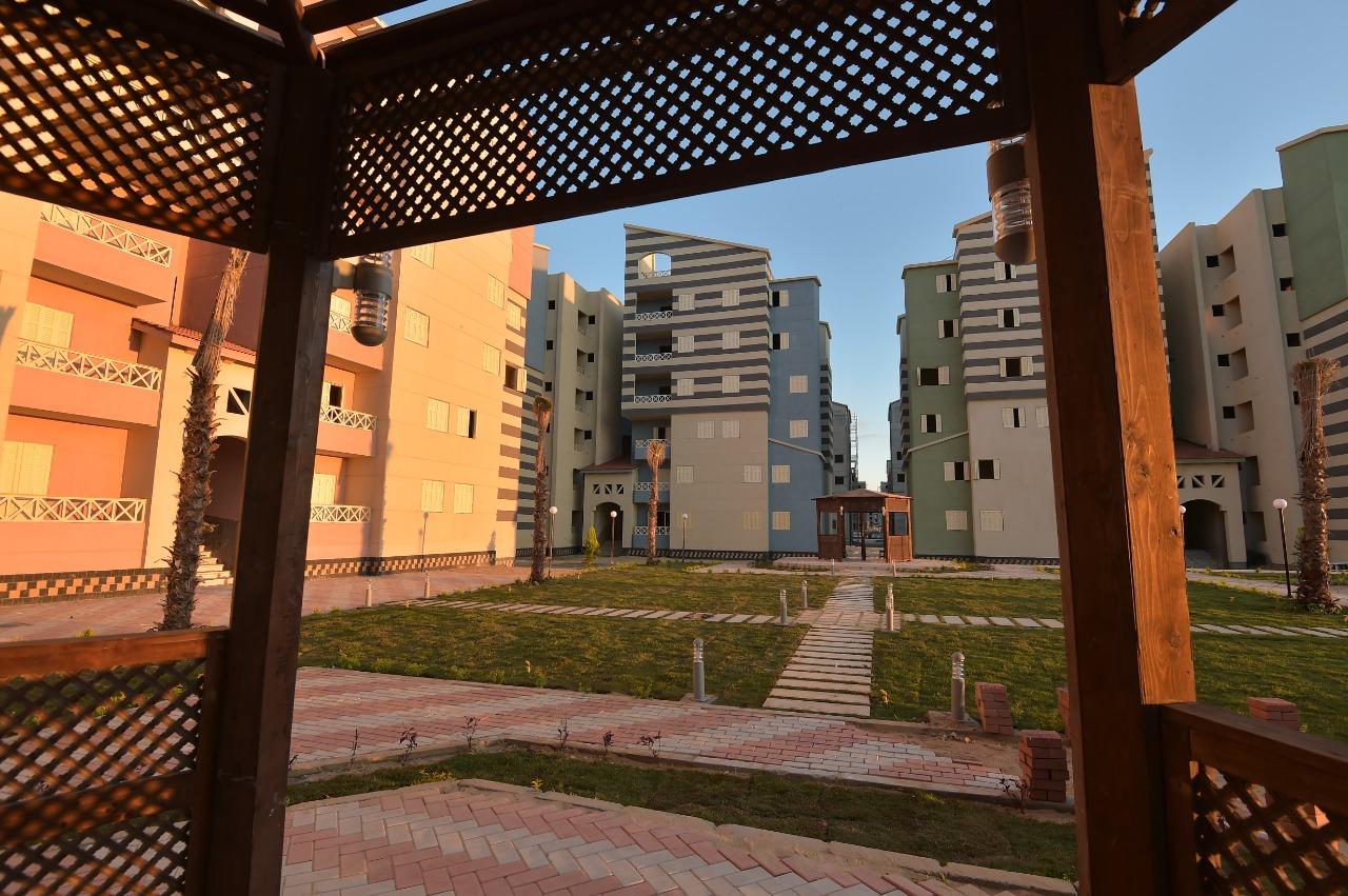أول 500 وحدة سكنية نظام الاسكان المتميز بمدينة العلمين الجديدة  (1)