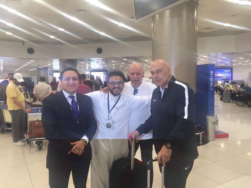 استقبال بعثة الزمالك فى الكويت (2)