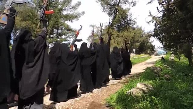انضمام النساء لتنظيم داعش