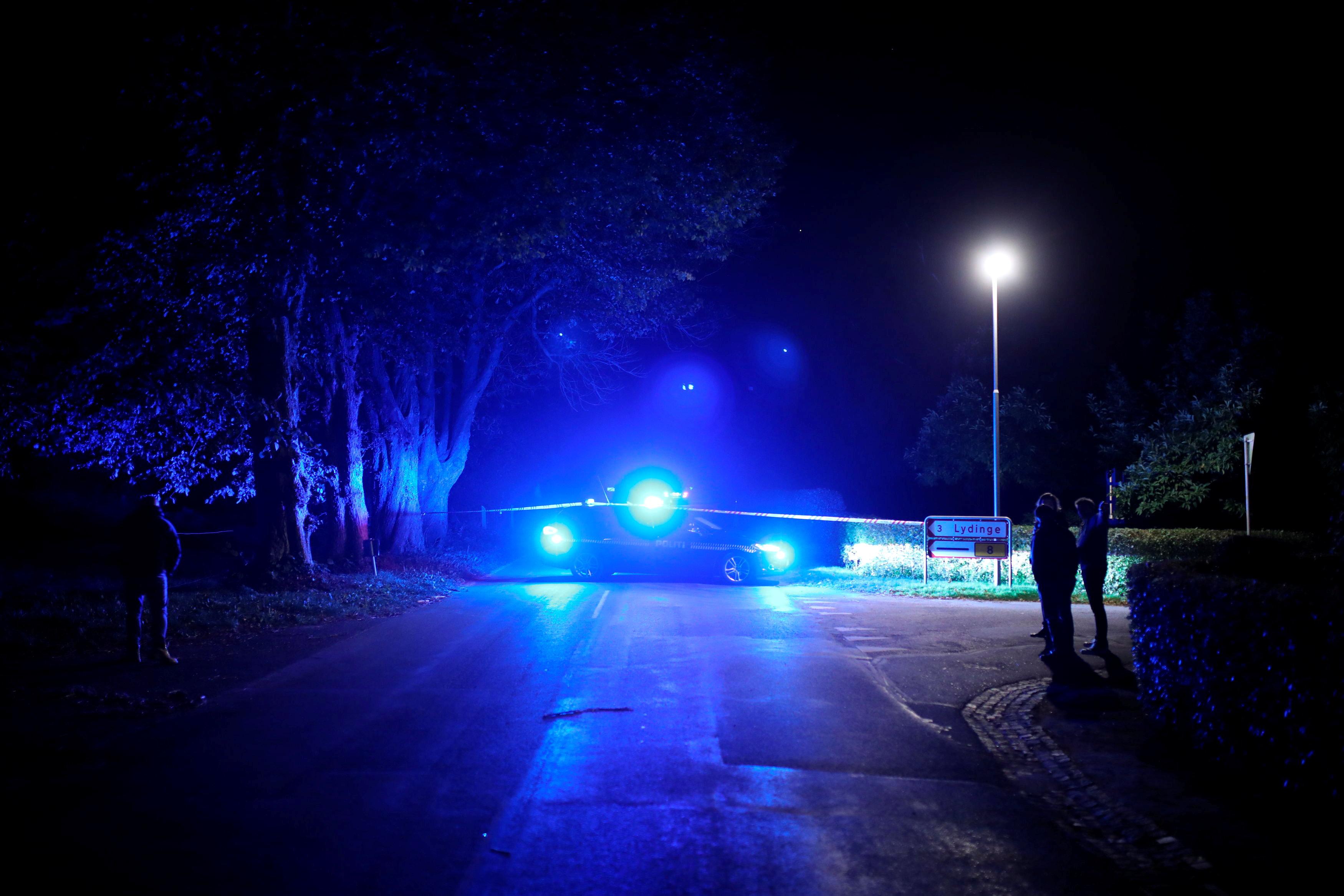 الشرطة الدنماركية تنتشر خلال العملية الأمنية
