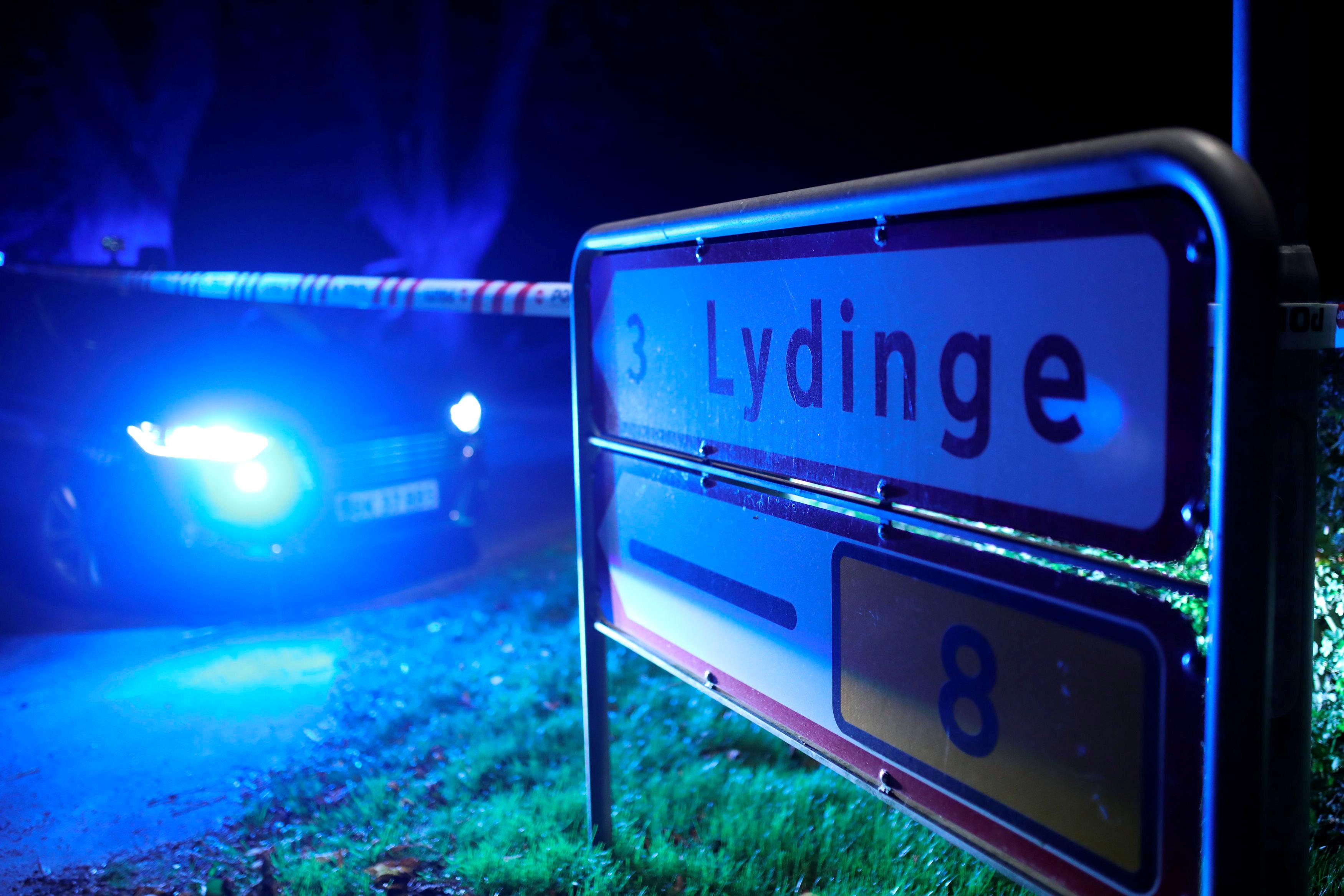 انتشار الشرطة الدنماركية