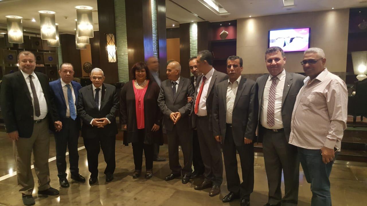 خلال لقاء وزيرة الثقافة مع رؤساء الاتحادات (2)