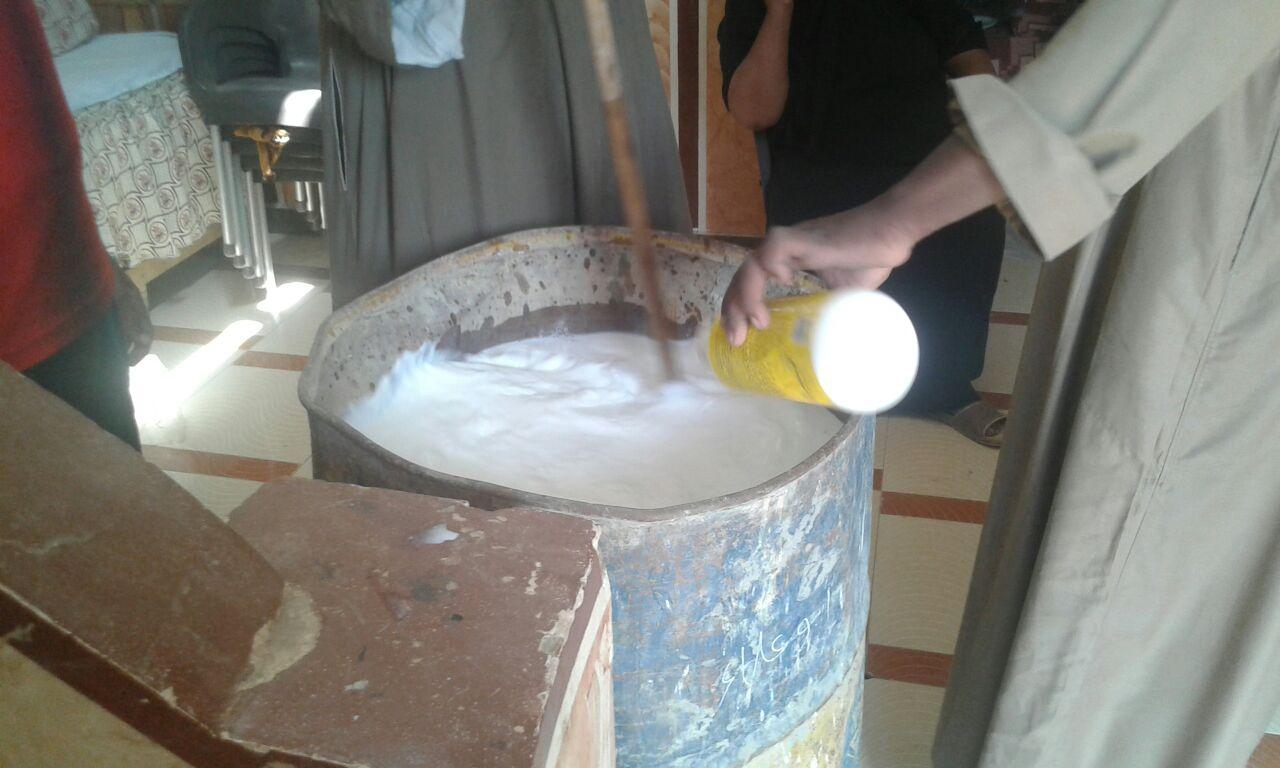 علاج 80 وحدة مصابة بالنمل الابيض فى محافظة اسوان (7)