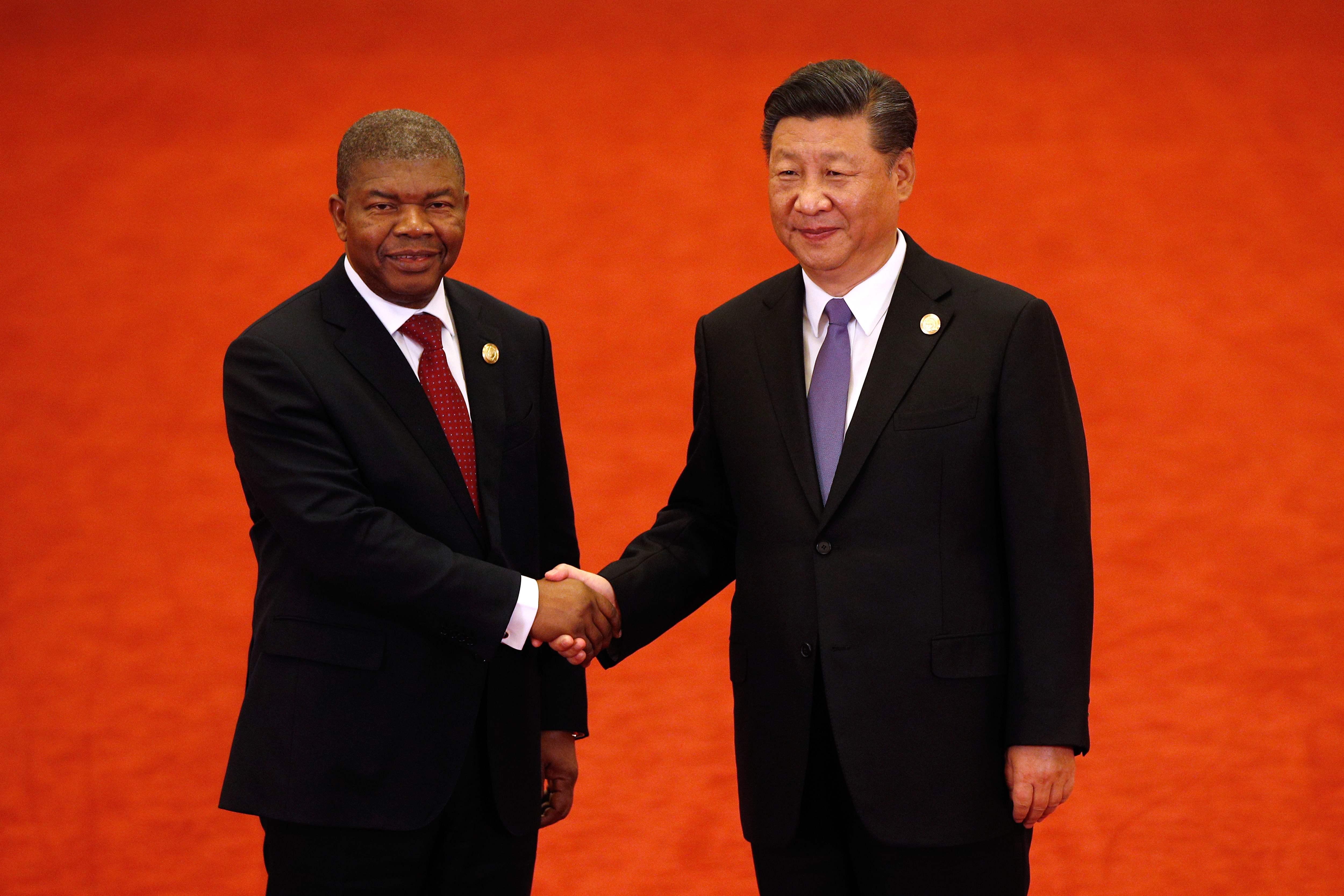 رئيس أنجولا ورئيس الصين