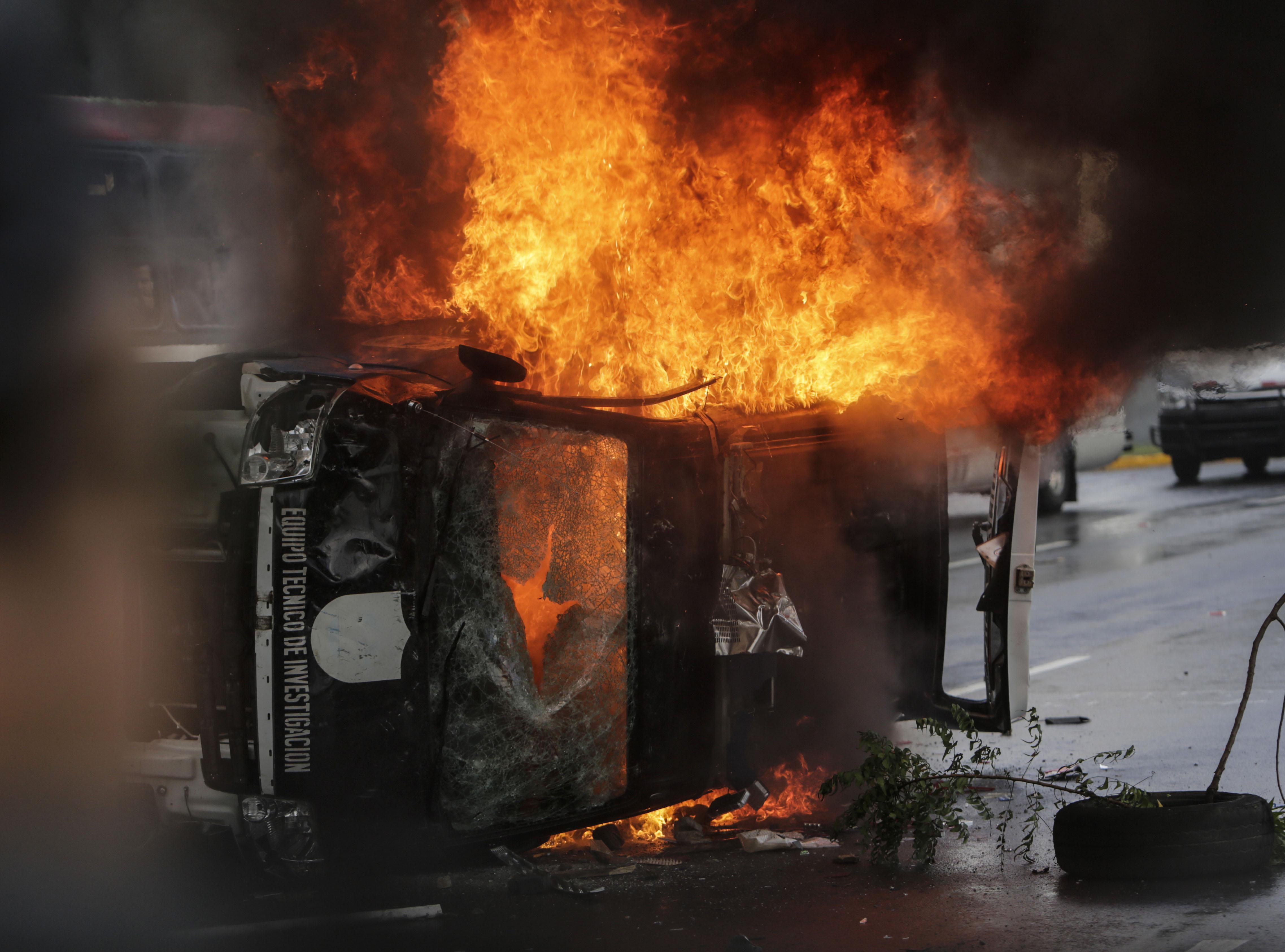العنف فى نيكاراجوا