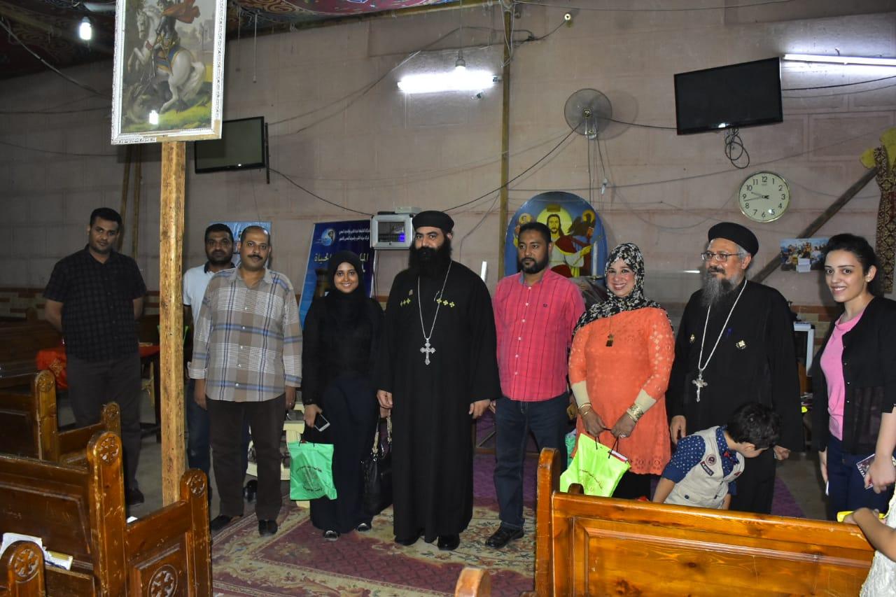 شركة مياة الشرب بالأقصر تواصل حملات التوعية بالمياة لرجال الدين بالكنائس (3)
