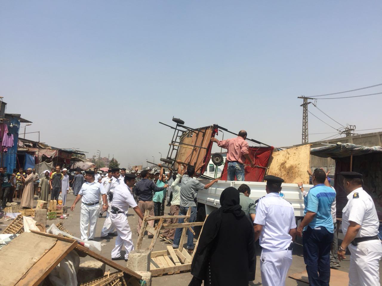 حملات تطهير شوارع القاهرة