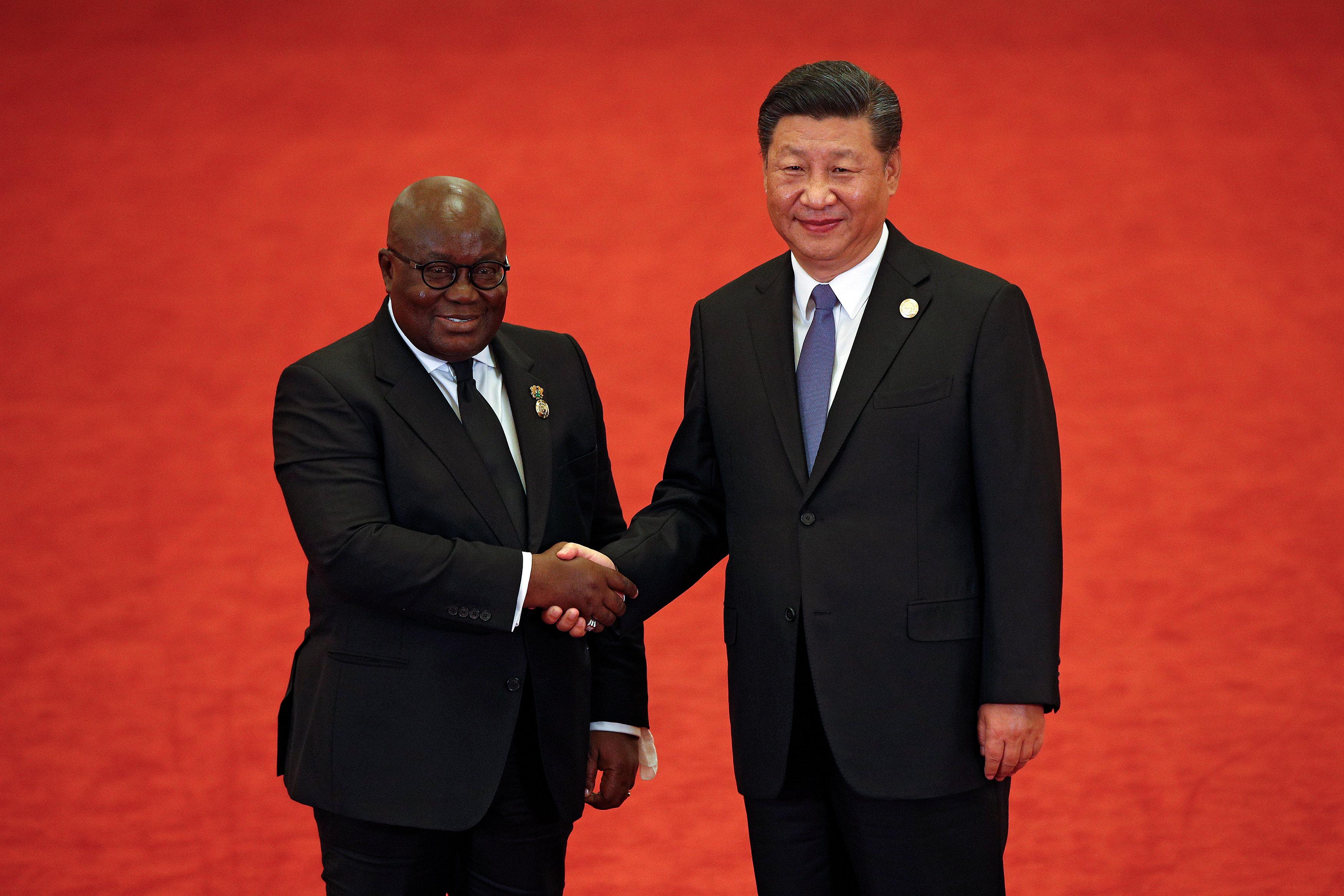 رئيس النيجر ورئيس الصين
