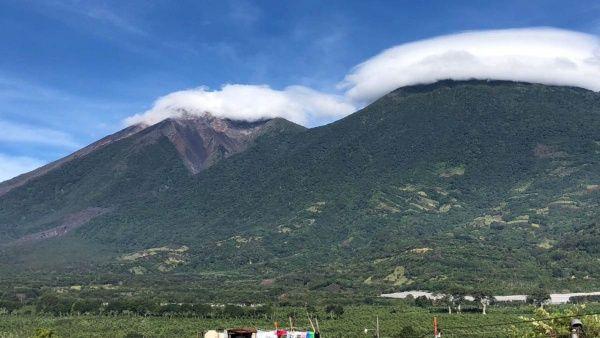 ثوران بركان فويجو