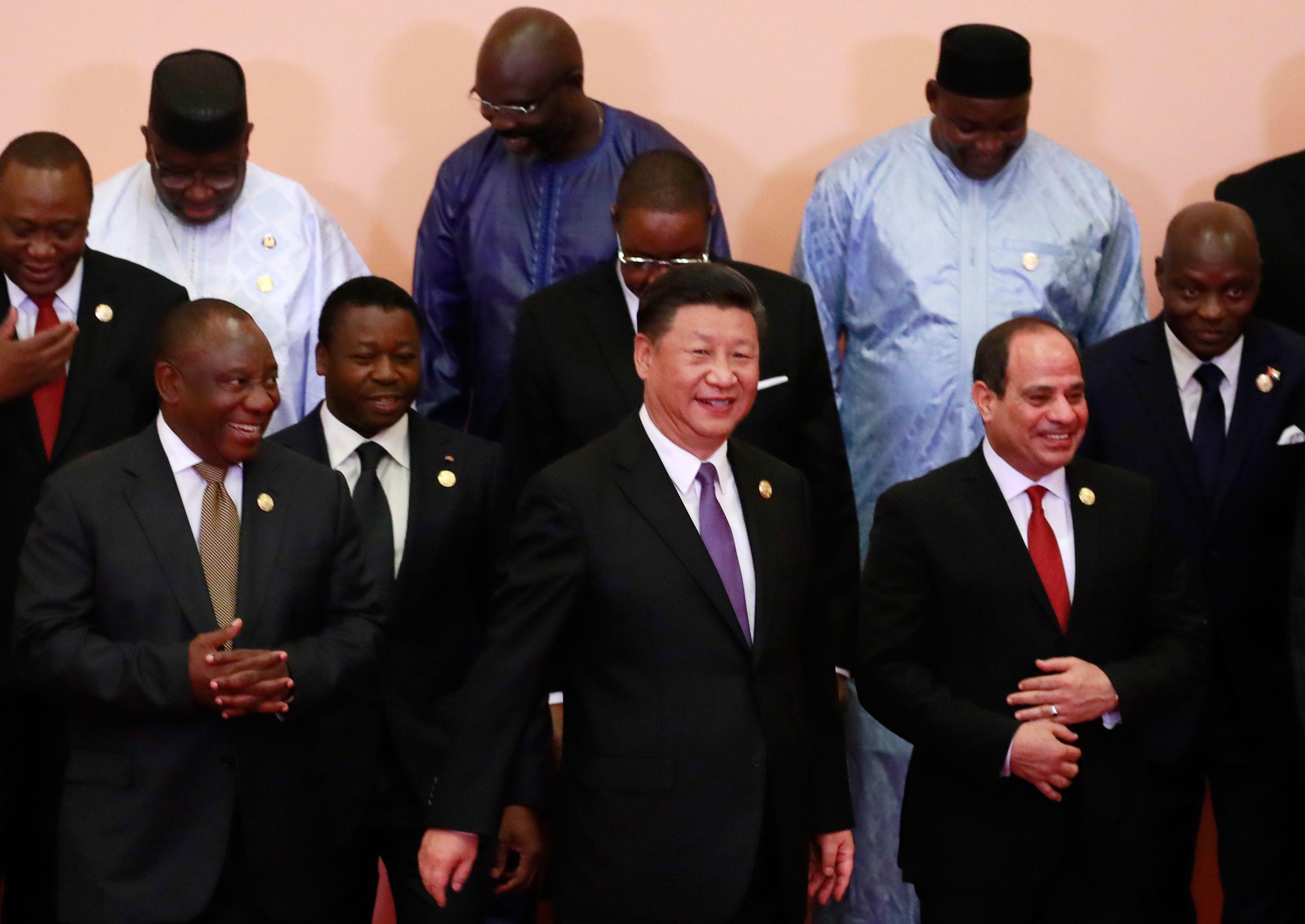 الرئيس السيسى بقمة الصين أفريقيا ببكين