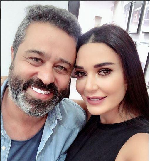 سيرين عبد النور وسامر برقاوى