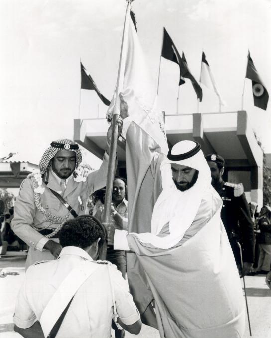 الشيخ زايد يحتفل بتخريج دفعة جديدة من كلية زايد العسكرية