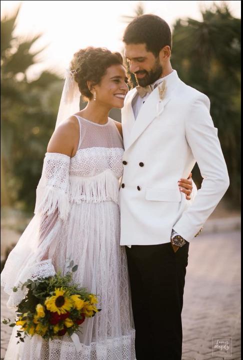 أحمد مجدى وعروسه