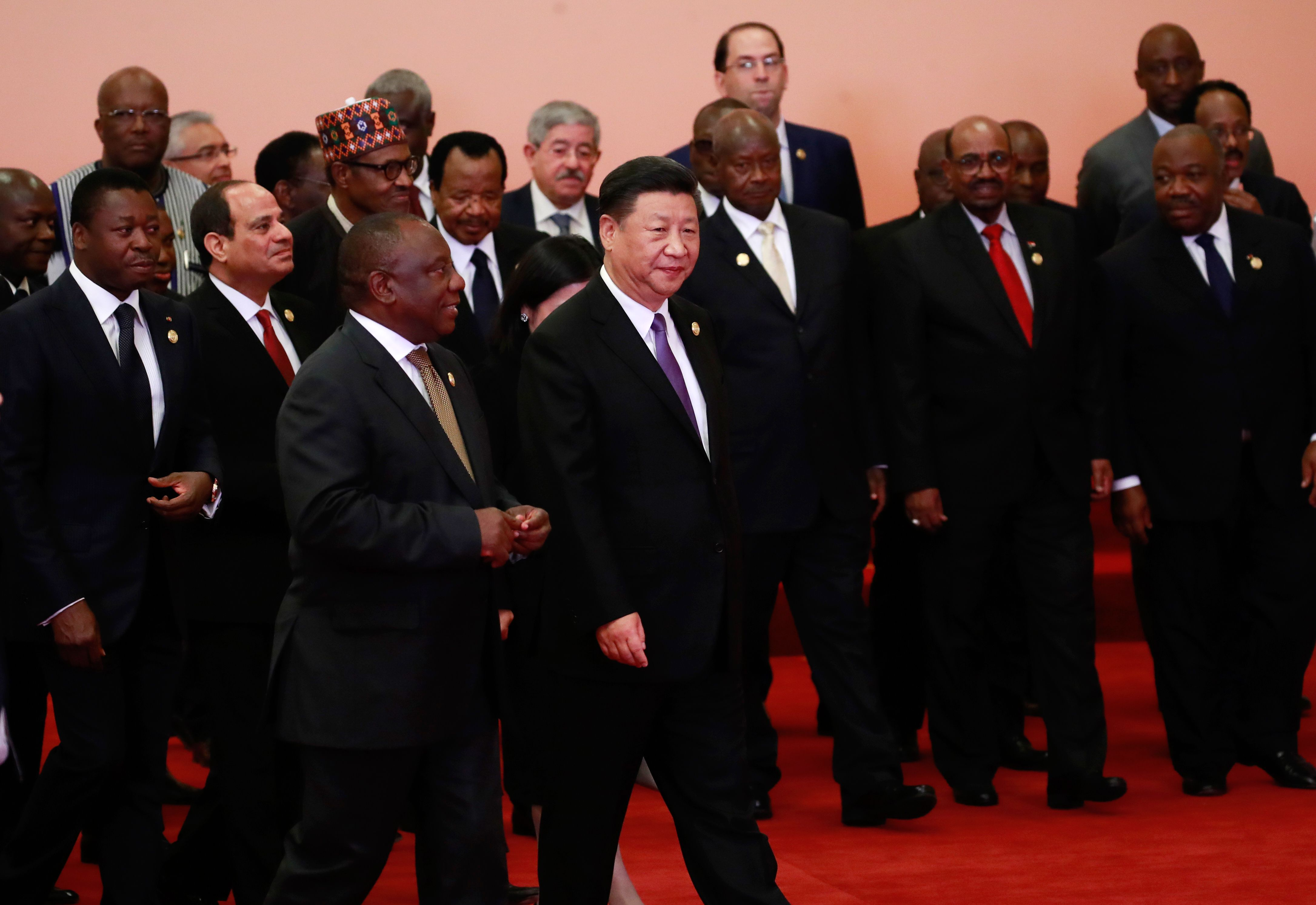 زعماء قمة الصين أفريقيا فى بكين