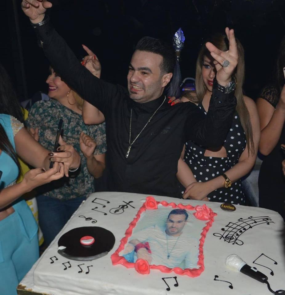 الفنان حمزة الصغير يحتفل بعيد ميلاده
