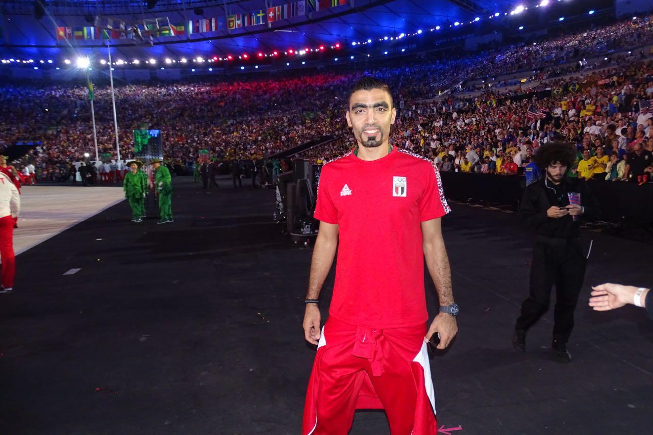 أحمد صلاح فى أولمبياد البرازيل
