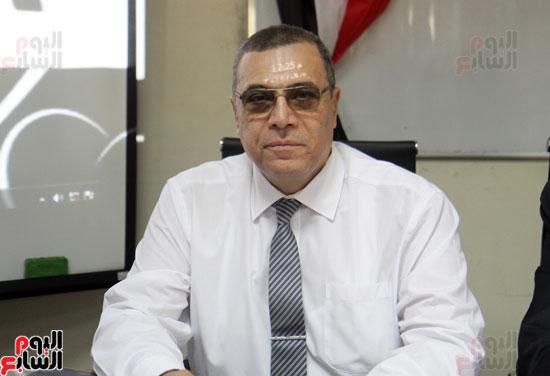افتتاح احد الاقسام بمركز ذوى الاحتياجات الخاصة بجامعة عين شمس  (8)