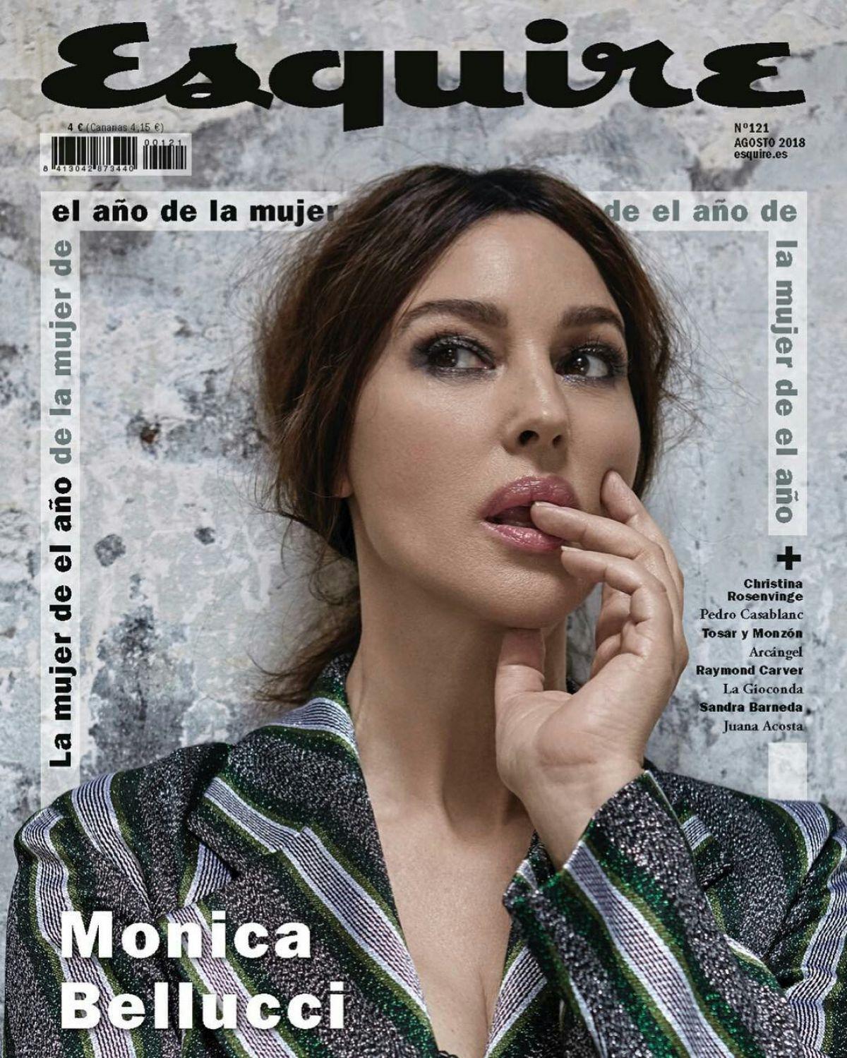 مونيكا بيلوتشى على أغلفة المجلات