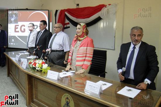 افتتاح احد الاقسام بمركز ذوى الاحتياجات الخاصة بجامعة عين شمس  (9)