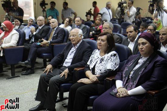 افتتاح احد الاقسام بمركز ذوى الاحتياجات الخاصة بجامعة عين شمس  (11)