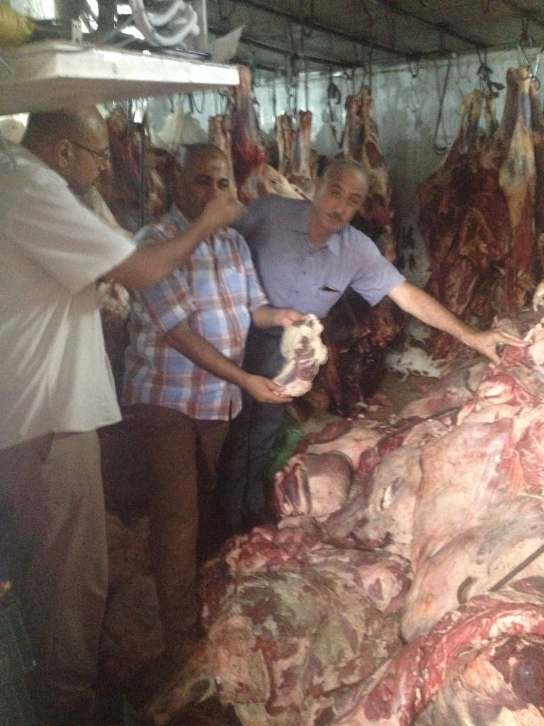 الزراعة  تواصل حرب اللحوم الفاسدة  (1)