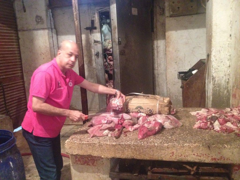 الزراعة تواصل حرب اللحوم الفاسدة (2)