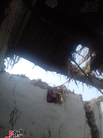 50 منزلا متضررا