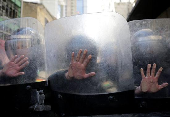 قوات الأمن فى بوليفيا