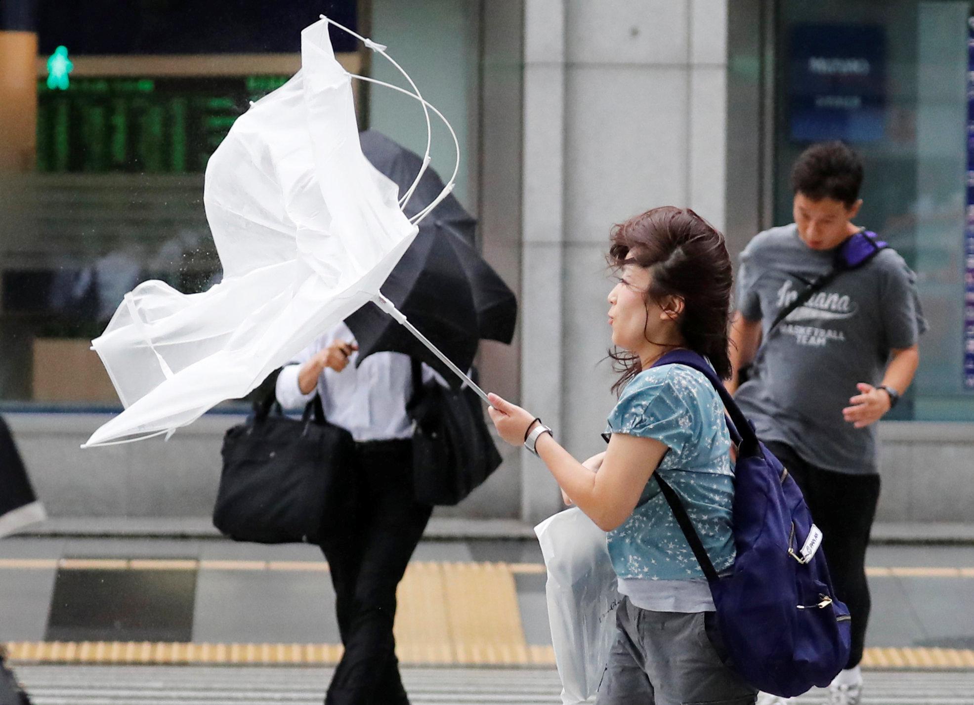 الإعصار سيصل اليابان يوم الخميس