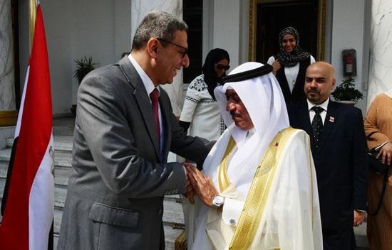 على عبدالعال ورئيس مجلس النواب البحرينى (16)