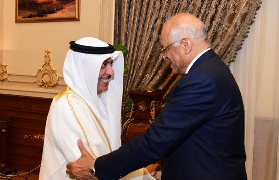 على عبدالعال ورئيس مجلس النواب البحرينى (12)